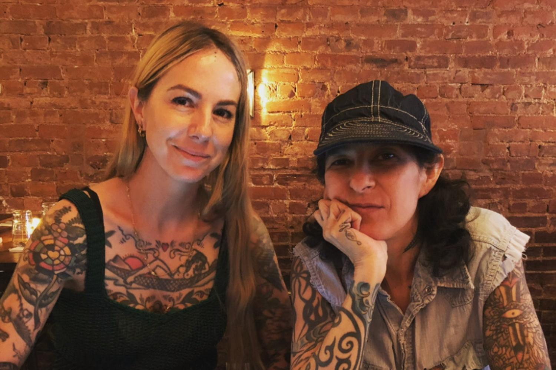 Virginia Elwood and Stephanie Tamez