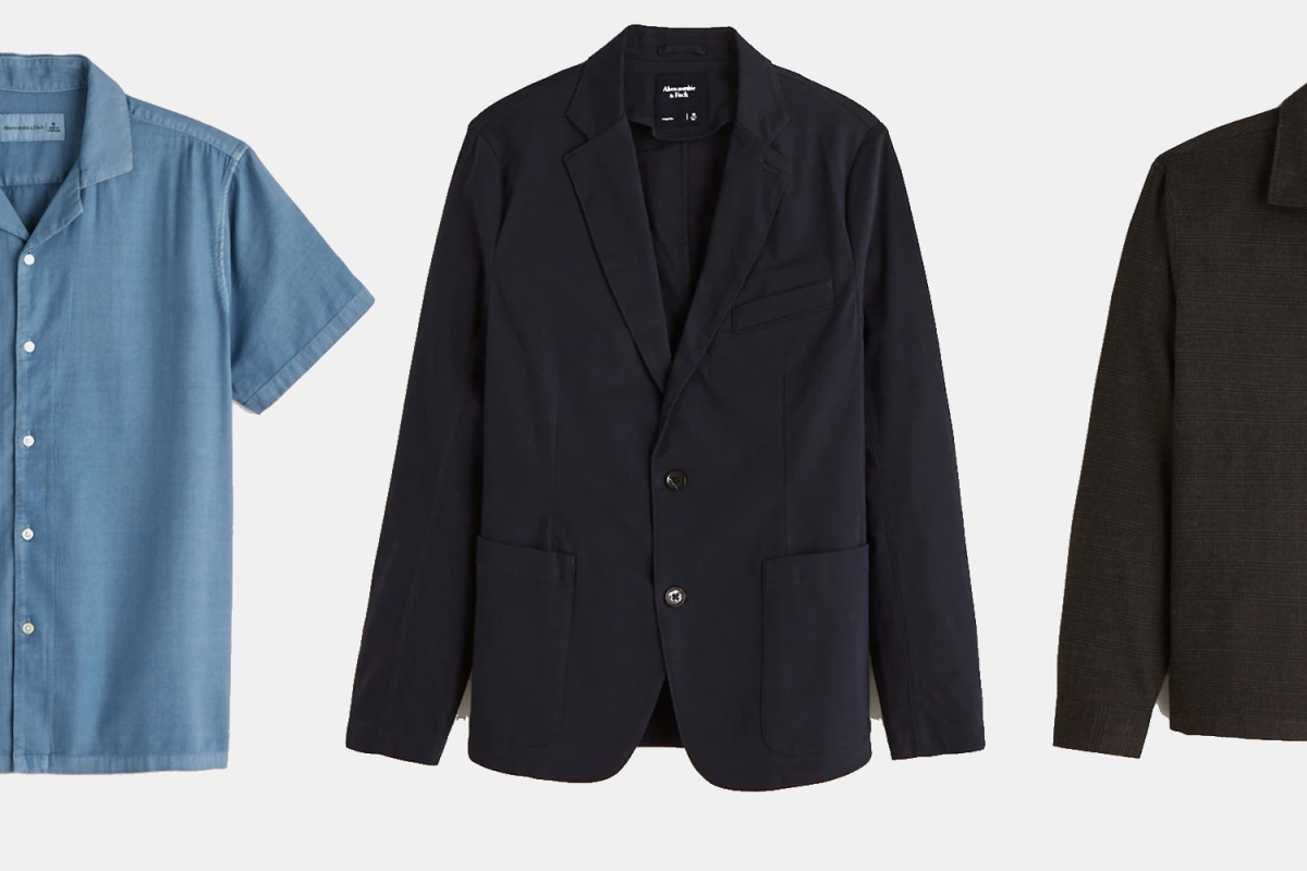 Shop cotton blazers, camp collar shirts, overshirts and more.