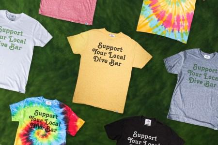 InsideHook x Kid Dangerous Support Your Local Dive Bar T-Shirt