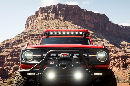 Custom Ford Bronco made with 4 Wheel Parts in Moab, Utah