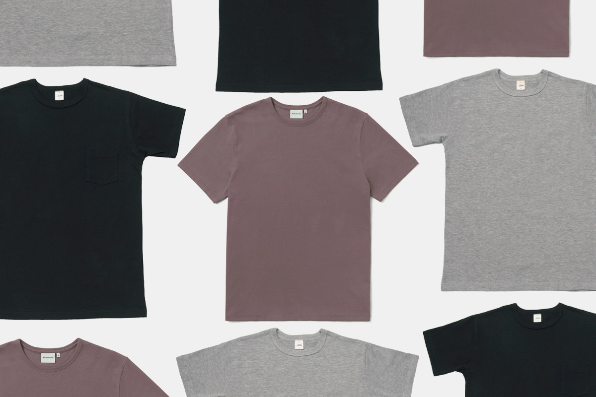 Richer Poorer and 3sixteen Heavyweight T-Shirts