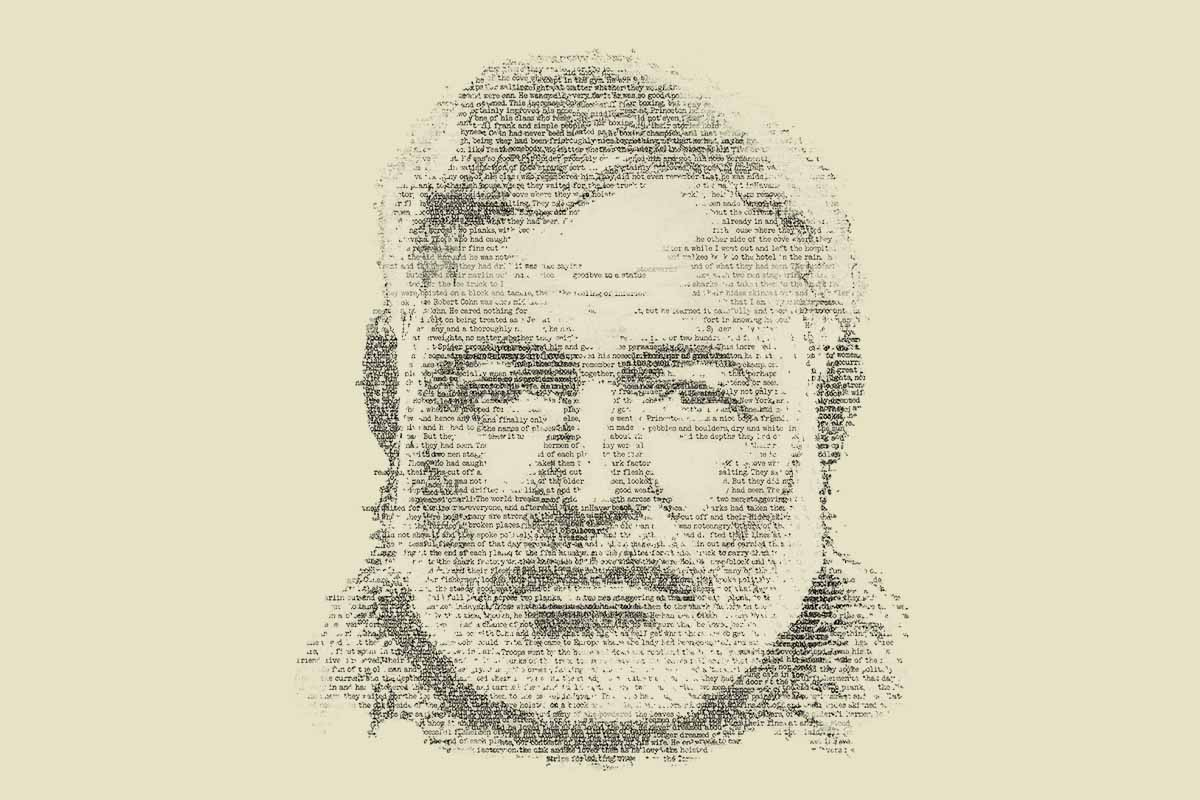 logo for the Hemingway biography on PBS