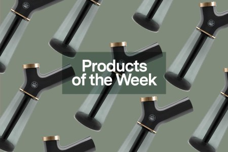 Products of the Week: Elegant Waterpipes, Arousal Serums and Weighted T-Shirts