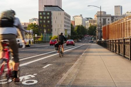 oregon bike lane