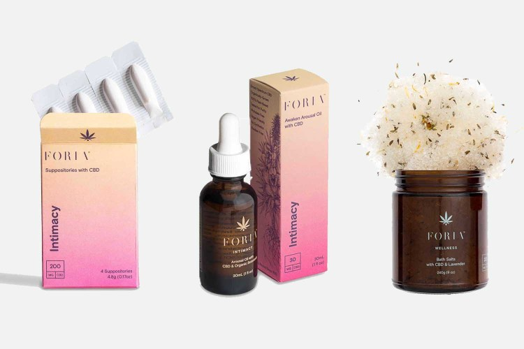 Save 25% on everything the CBD sexual wellness brand offers with code WOMEN25.