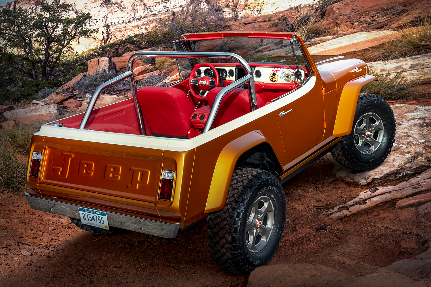 The Jeepster Beach Concept Vehicle