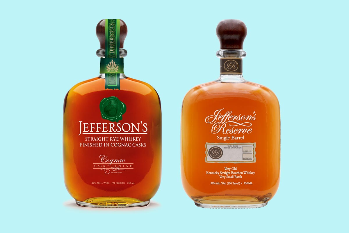 Jefferson Bourbon's new rye and Single Barrel releases