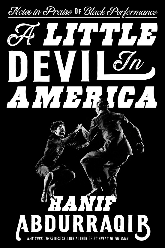 """The cover of """"A Little Devil in America"""""""
