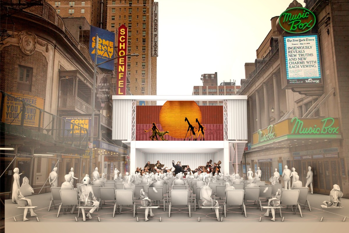 Shipping container theater