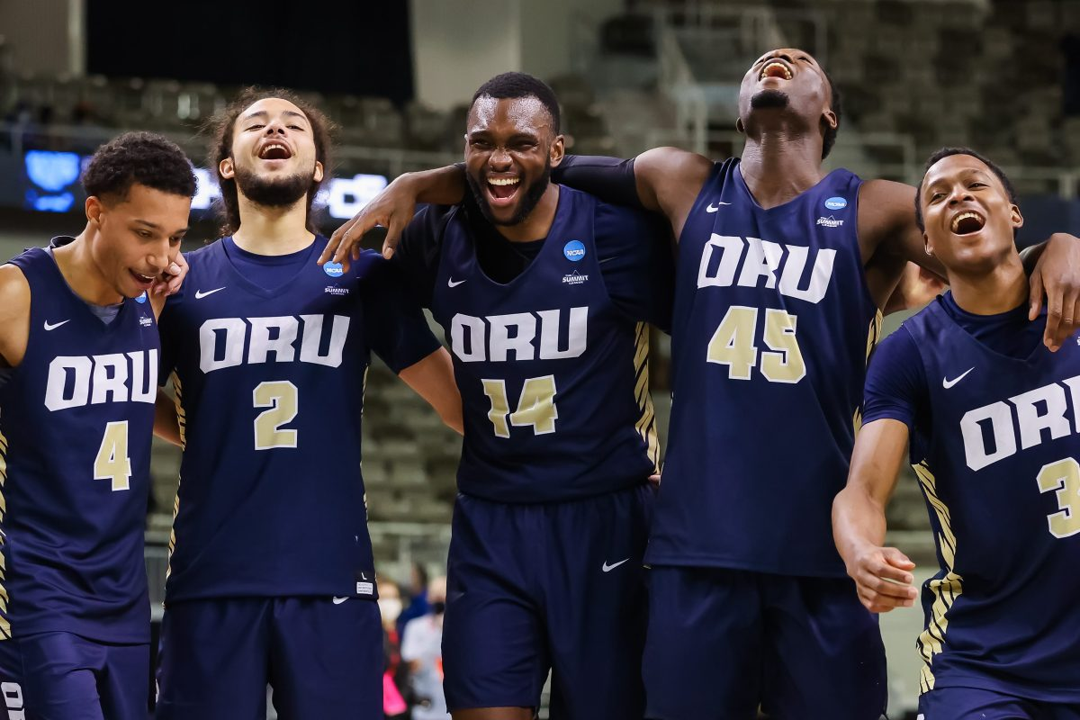 The Oral Roberts Golden Eagles