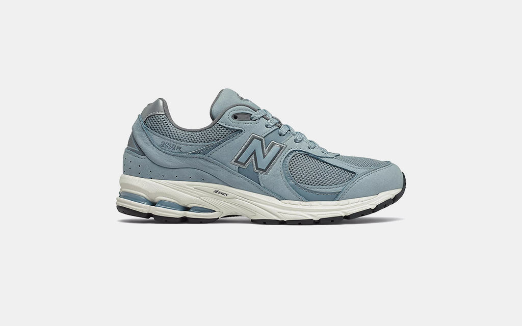 New Balance 2002R in Rain Cloud with Carnival