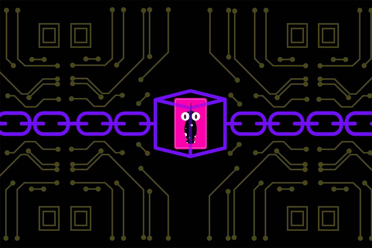 A representation of non-fungible tokens and digital art