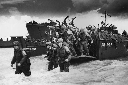 World War II. Normandy landings.