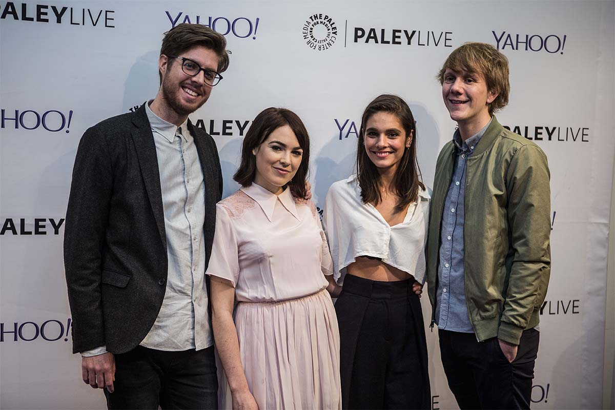 The cast of Please Like Me in 2015