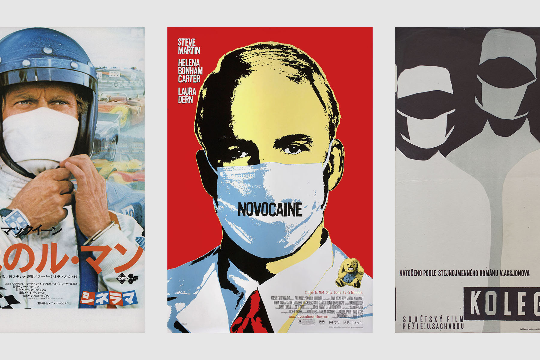 movie posters with masks