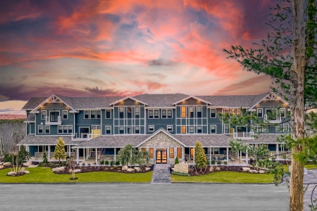 the sunset hilltop lodge at the preserve in rhode island