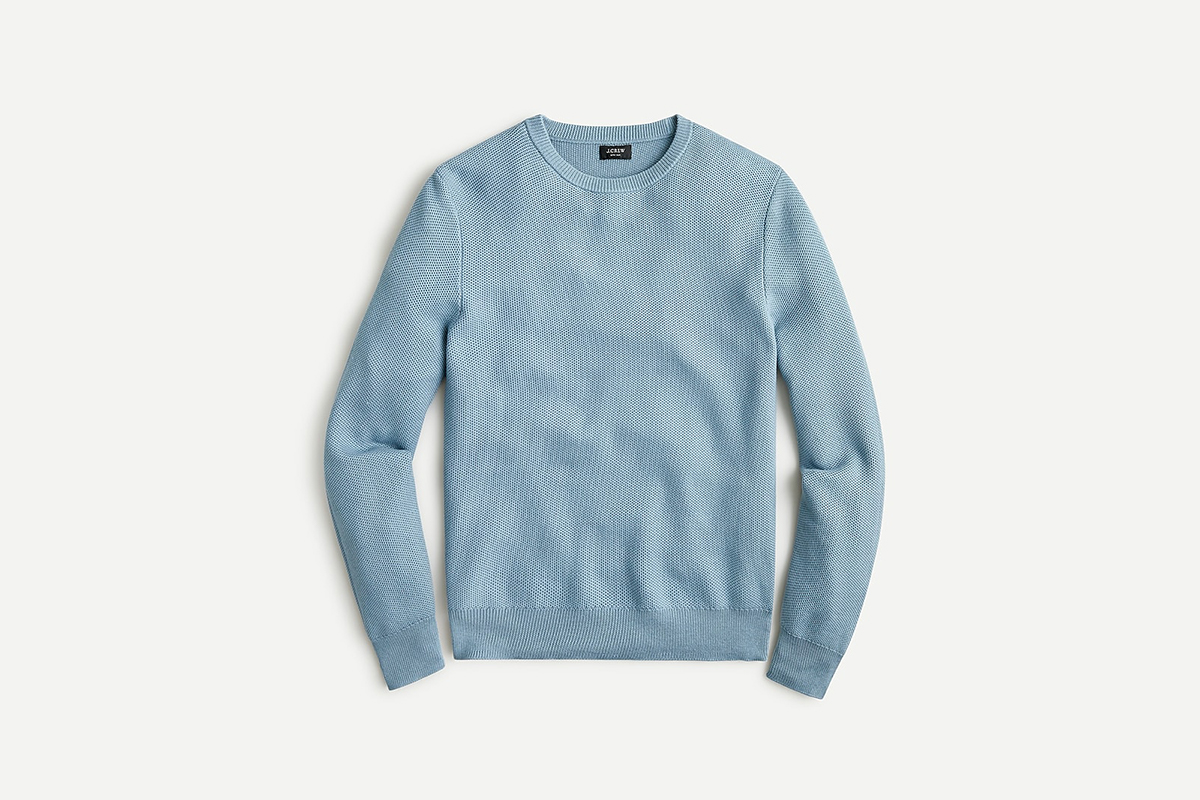 J.Crew Pique Sweater