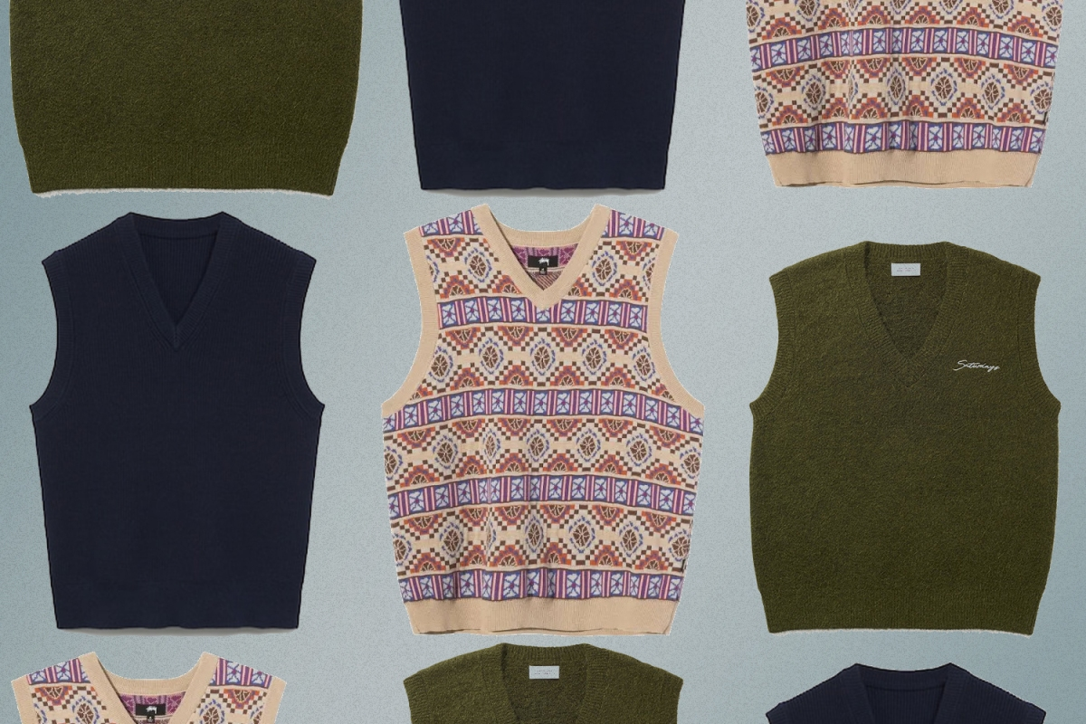 Best Sweater Vests for Men