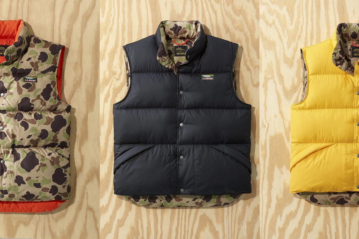 Todd Snyder x L.L.Bean Puffer Vests