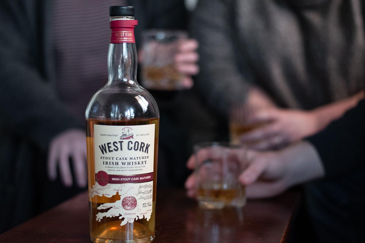 West Cork's new Irish whiskey release, which spent time in both former bourbon casks and stout beer barrels