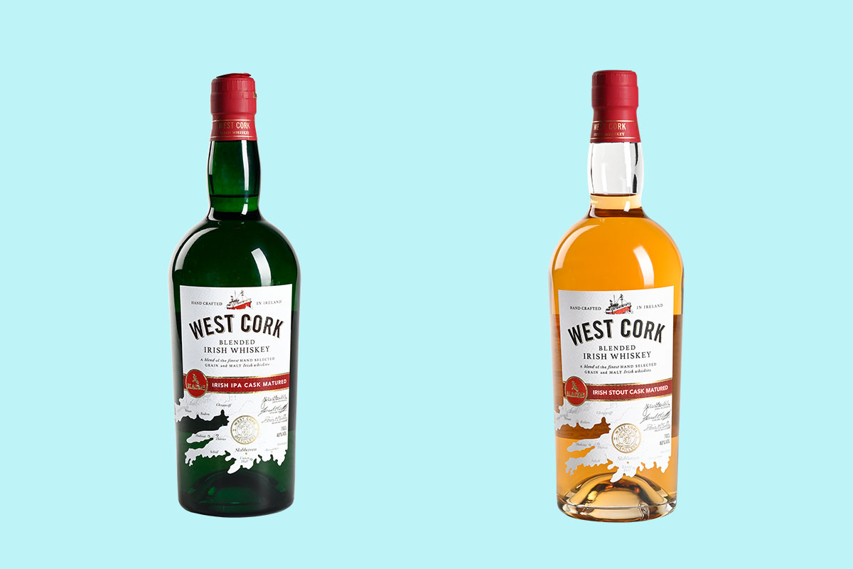 West Cork's two new whiskey releases, rested a second time in IPA and Stout casks