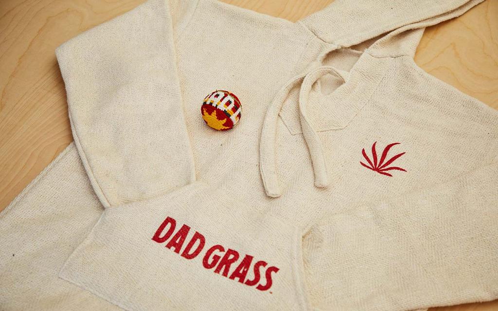 Dad Grass Baja Beach Hoodie