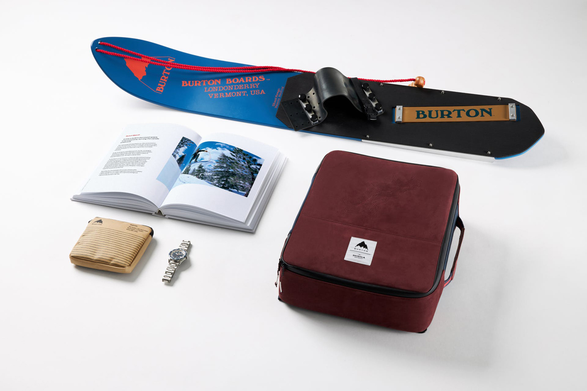 Burton x Shinola Great Americans Collaboration Jake Burton Gift Set