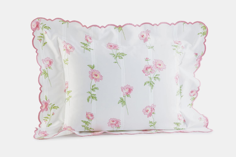 Sheet set in Carnations