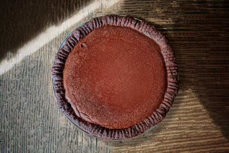Perfect Chocolate Custard Pie