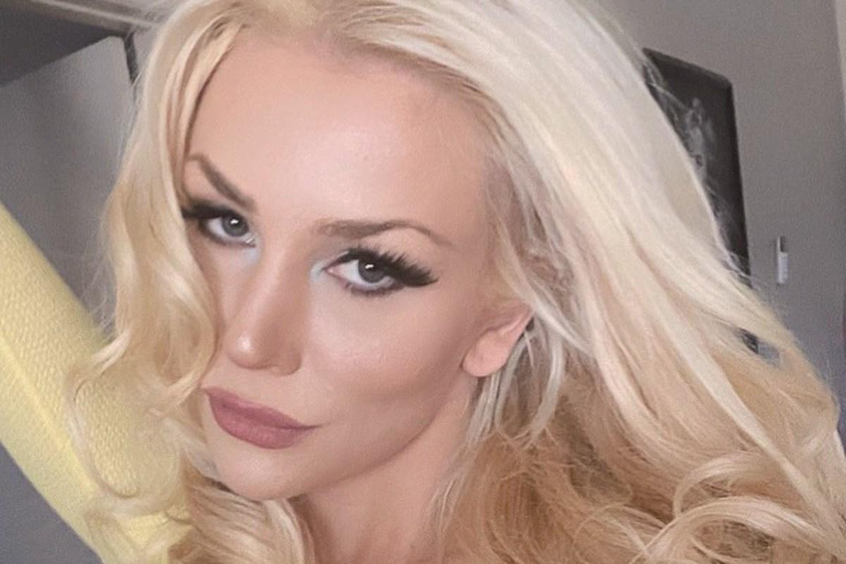 closeup selfie of Courtney Stodden