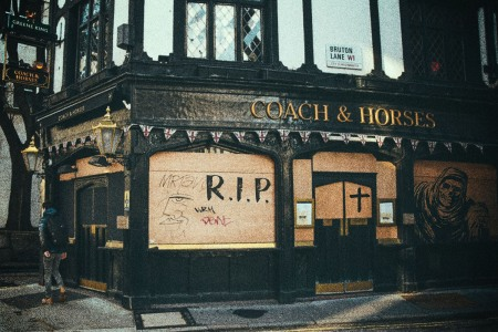 The Coach and Horses in Mayfair is temporarily closed due to COVID, but a grimmer fate may be on the horizon