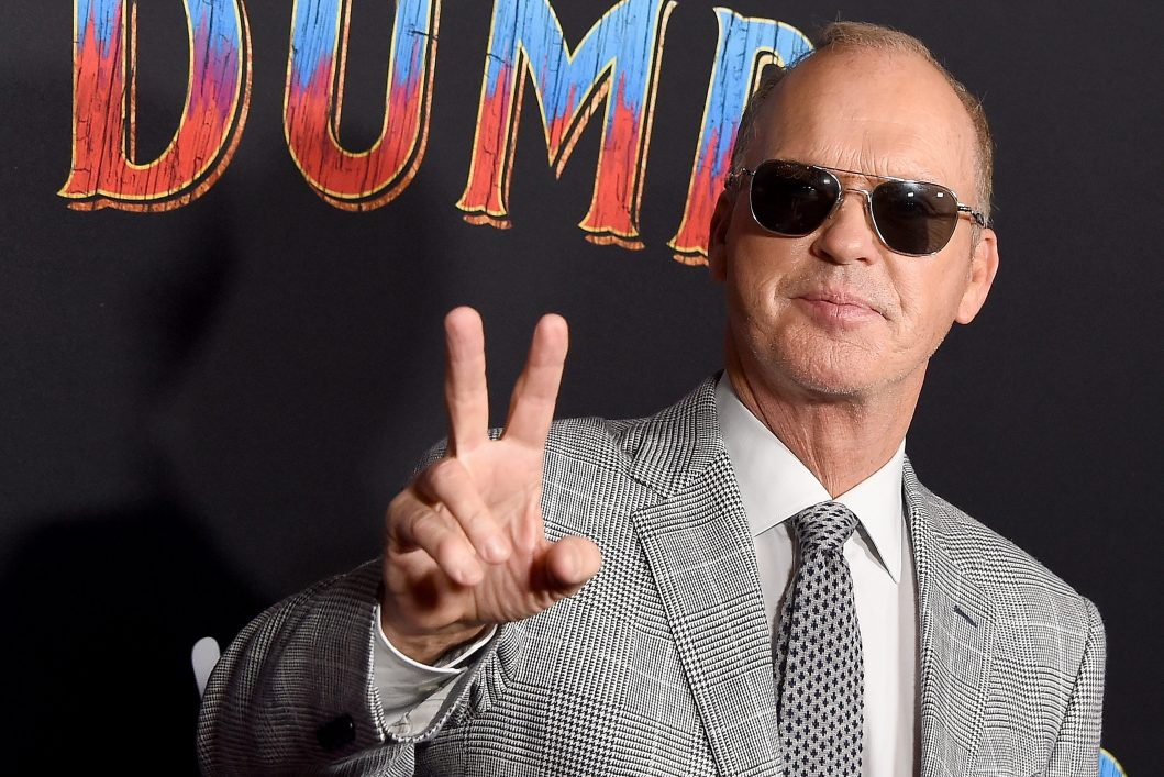 """Michael Keaton attends the premiere of Disney's """"Dumbo"""" at El Capitan Theatre on March 11, 2019 in Los Angeles, California."""