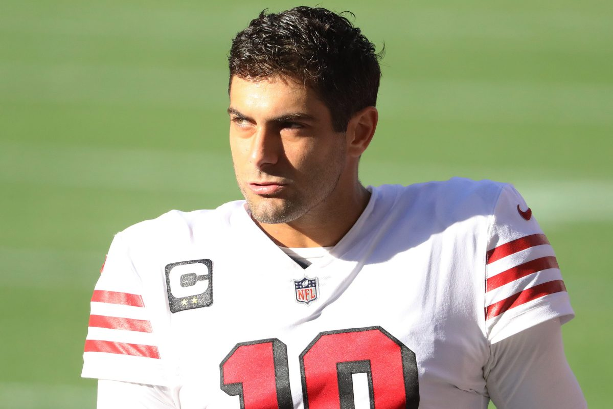 Could quarterback Jimmy Garoppolo be on the move?