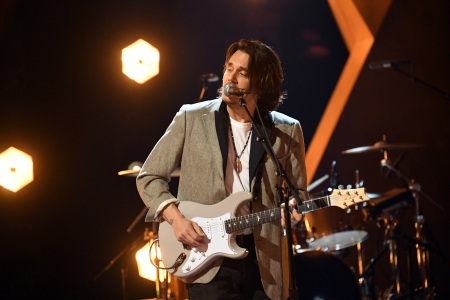 John Mayer performs onstage during the 63rd Annual GRAMMY Awards at Los Angeles Convention Center in Los Angeles, California and broadcast on March 14, 2021.