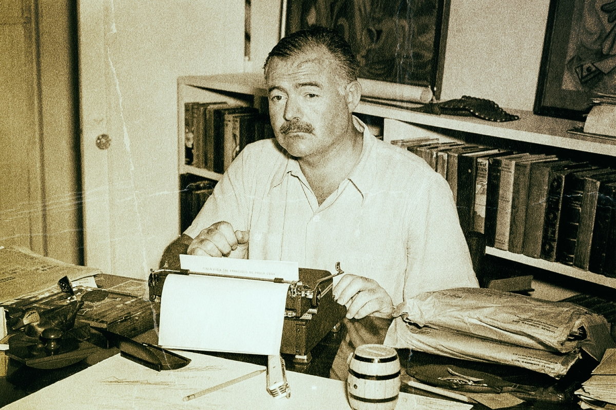 "Ernest Hemingway's signature style ""didn't just emerge fully formed,"" says filmmaker Lynn Novick."