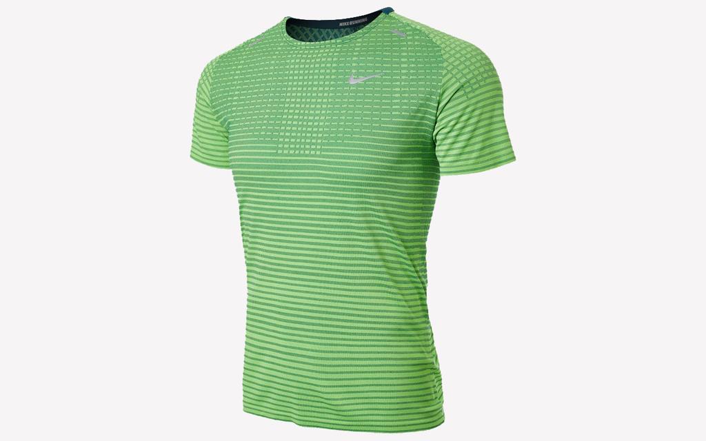 Nike Techknit Ultra Tee in green