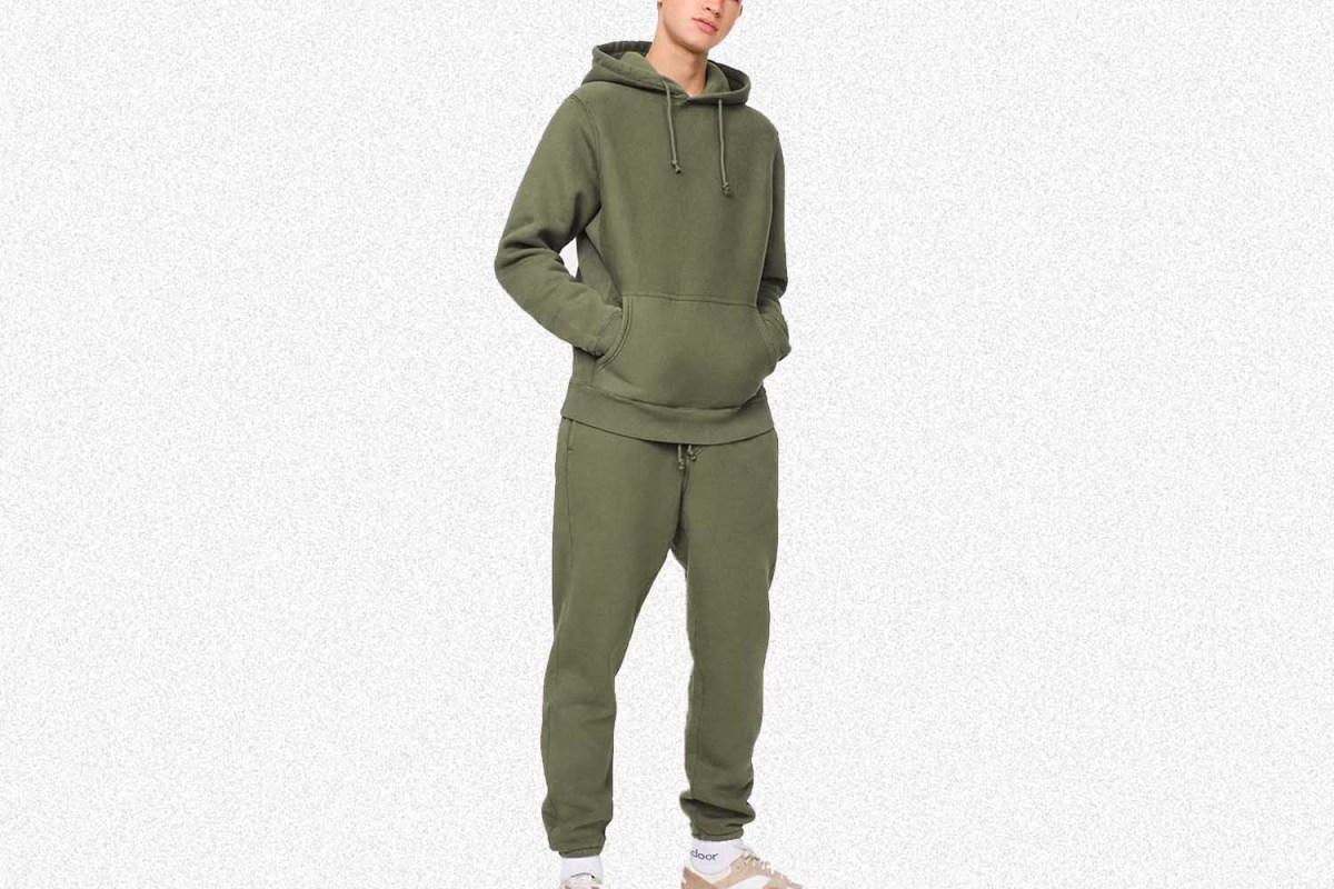 Deal: Outdoor Voices' Wildly Comfy Nimbus Cotton Hoodie and Sweatpant Are Both 70% Off