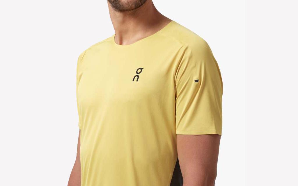 On Running Performance Tee in yellow