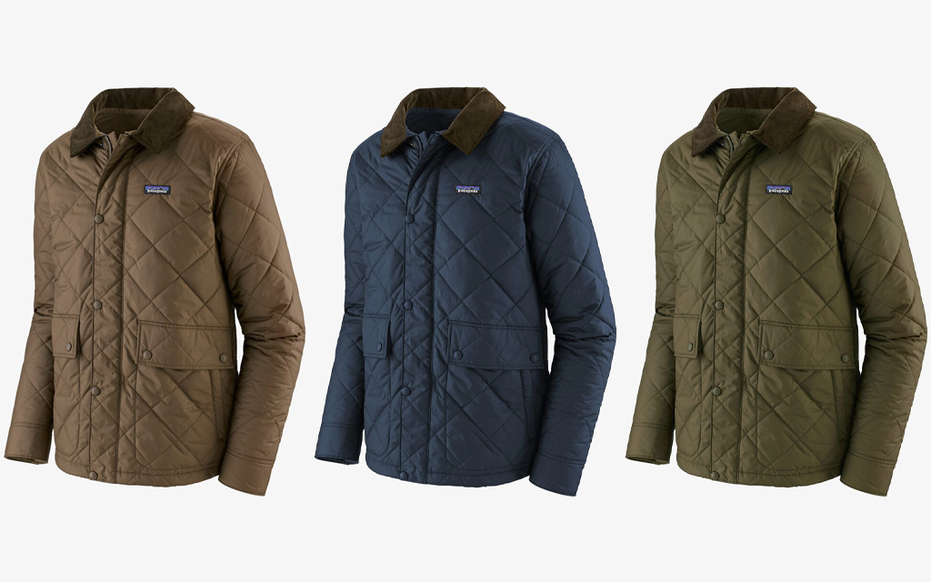 Patagonia Diamond Quilted Jackets
