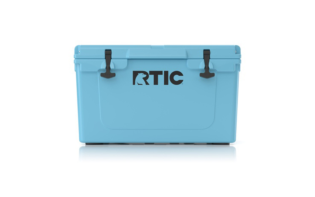 RTIC 45 Hard Cooler in blue