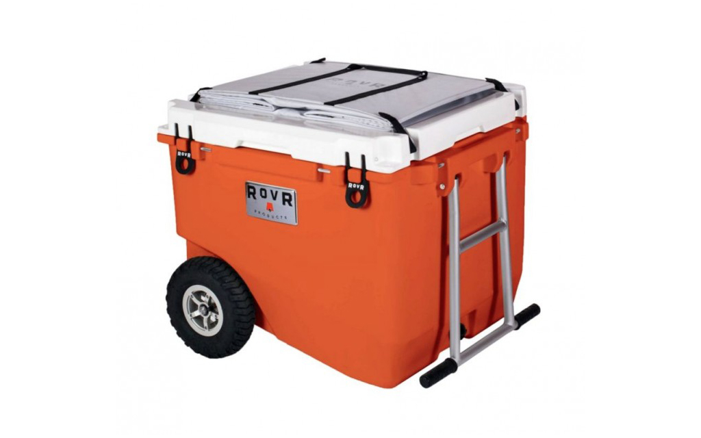 RovR RollR 60 Camping Cooler in red