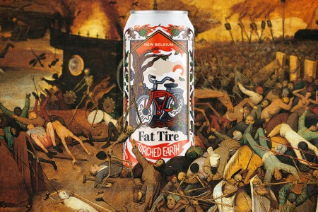 New Belgium Torched Earth beer