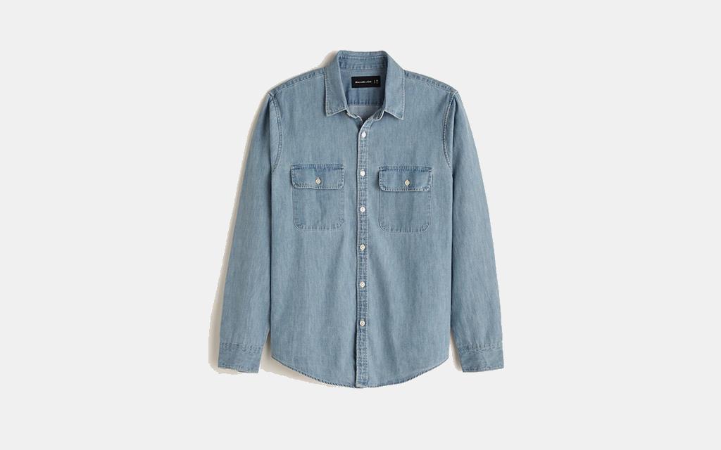 Abercrombie Denim Button-Up Shirt