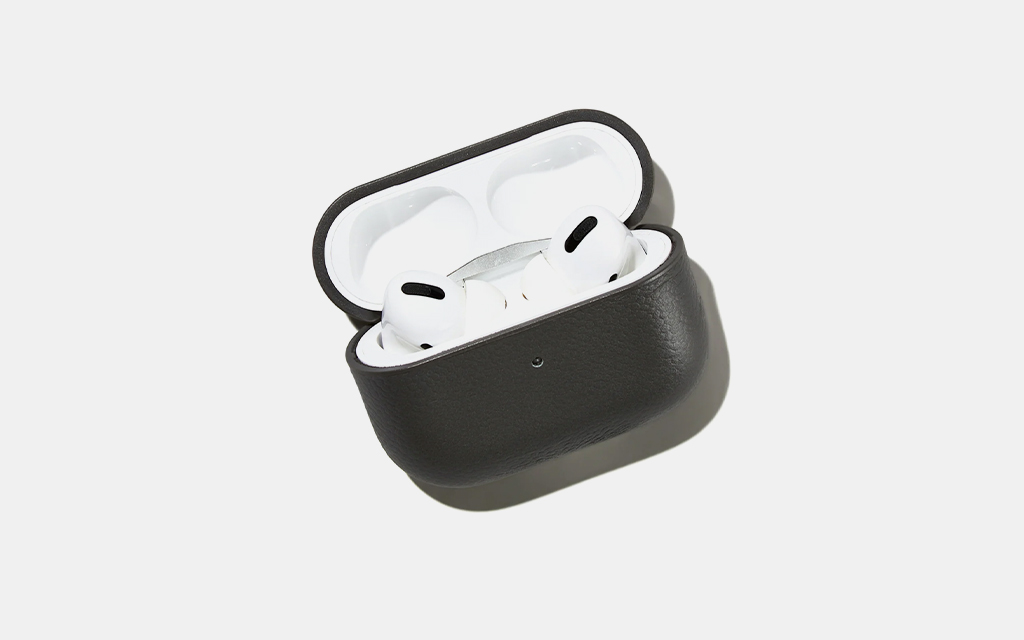 Courant Pebble Leather AirPod Pro Case