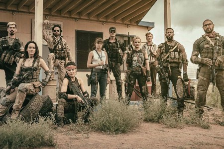 The cast of Zack Snyder's Arrmy of the