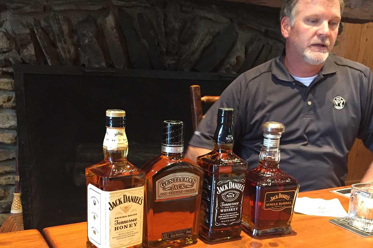 Former Jack Daniel's Master Distiller Jeff Arnett in 2015
