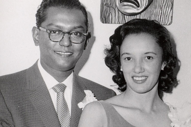 Ben and Virginia in 1958