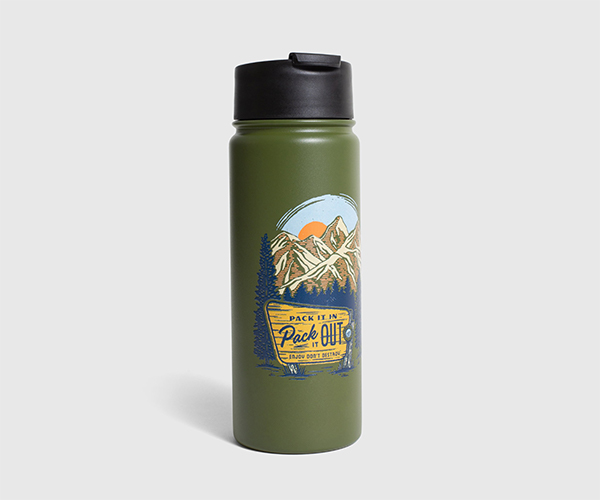Pack It Out 18 oz. Travel Bottle