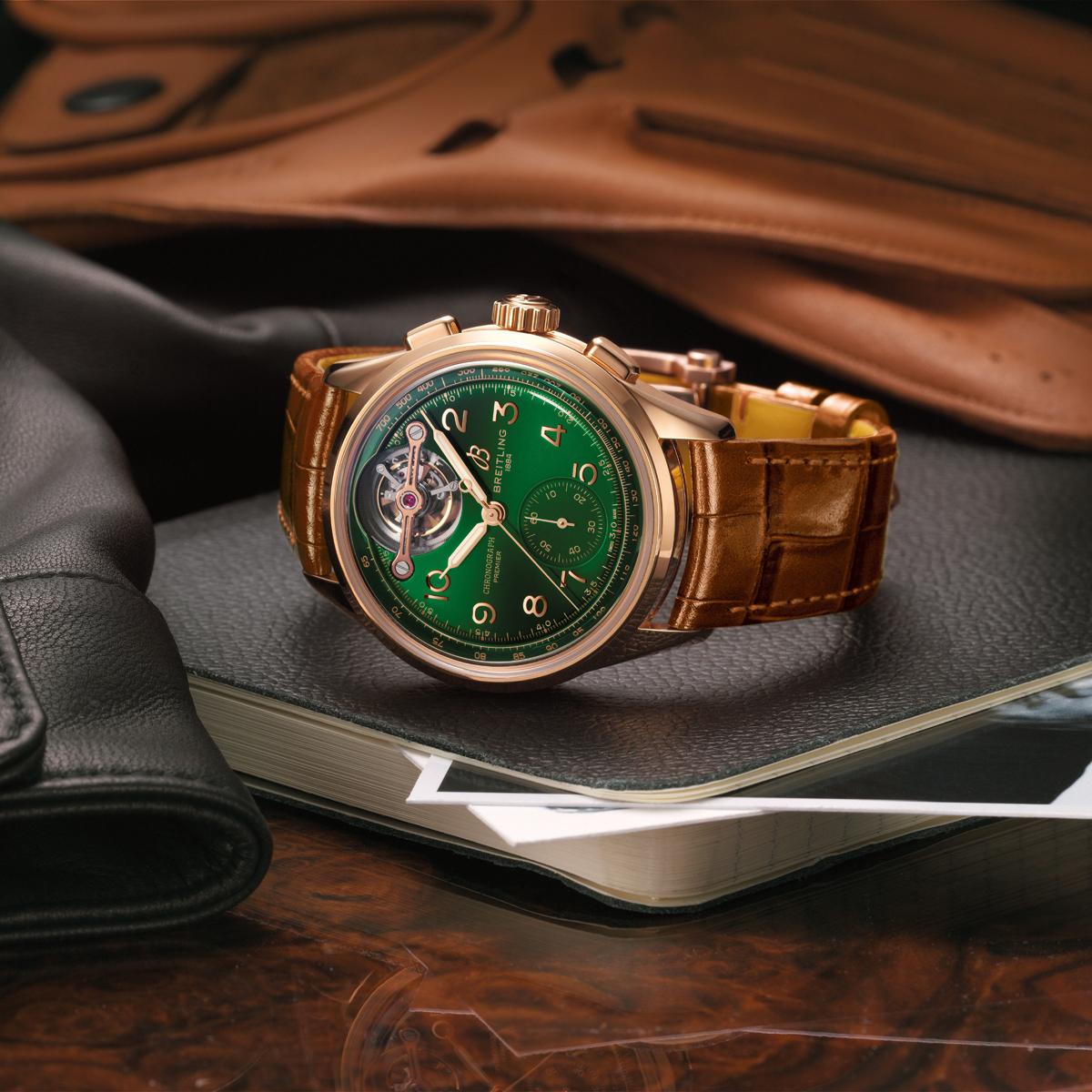Breitling Premier Chronograph Tourbillon Bentley
