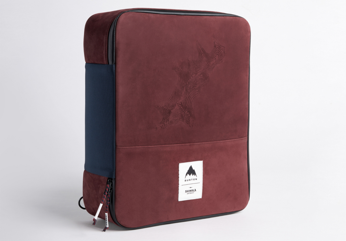 Burton x Shinola Great Americans Jake Burton Collaboration Cooler Bag